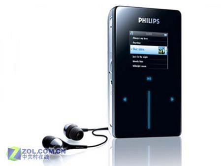 直击CES2006:飞利浦新款MP3亮相CES