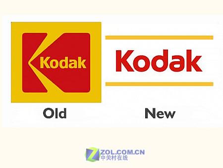 柯达公司宣布将启用新版本LOGO标识