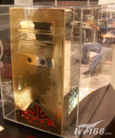 CES2006:24K黄金打造4000美元电脑