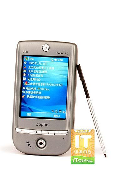WiFiGPS全通杀多普达P100灵巧PDA评测
