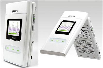 内置1GB闪存泛泰发布高性能音乐手机U110