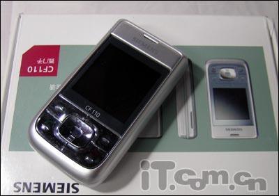 夸张西门子滑盖手机CF110仅售1200