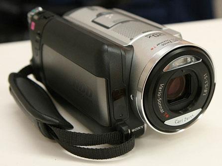 智能HDD保护技术索尼摄像机SR100解析