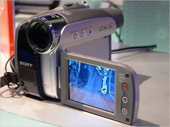 先睹为快06年部分新品数码摄像机盘点
