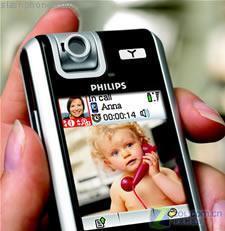 飞利浦VP5500一键即可切换VoIP功能