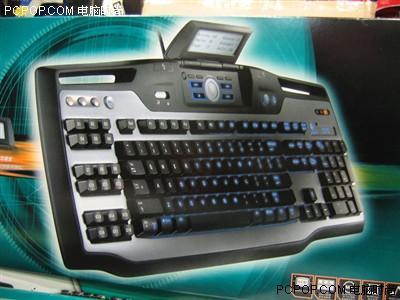 游戏新利器罗技G15带液晶显示屏键盘到货