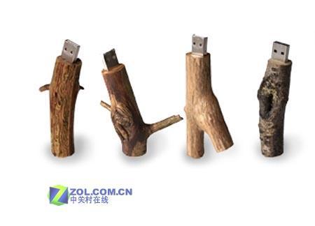 废物巧利用荷兰人让你见识木头制作的U盘