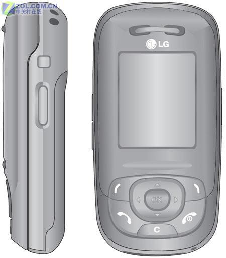 摄像长达一小时LG新款滑盖手机S5300曝光