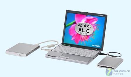 三菱推出超轻薄笔记本电脑仅重0.996Kg