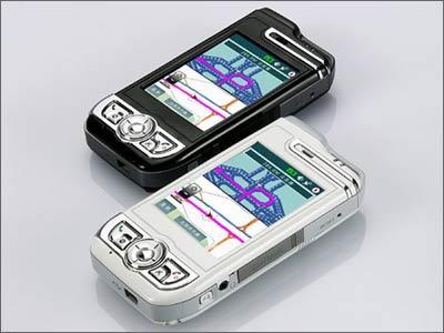 手机也玩全球定位神达A700上市价6600元