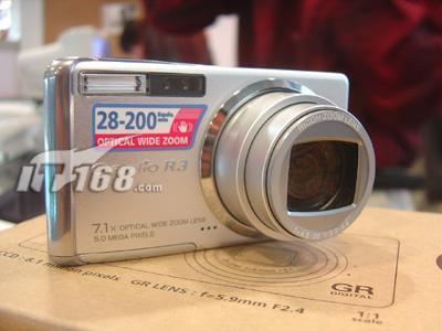 数码相机便鞋王子理光R3年后强势降价