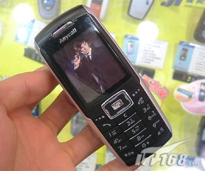 直板新贵三星百万像素手机X708低价登场