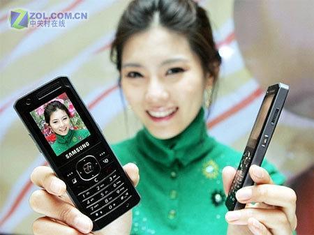 9.8毫米厚的3G直板新秀三星SGH-Z150
