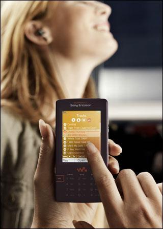 4GB闪存索爱发布智能Walkman手机W950