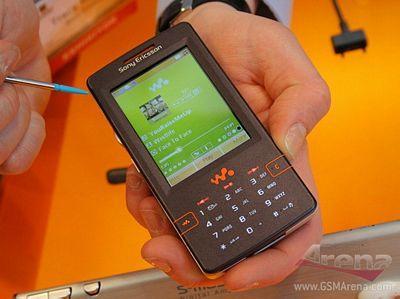 音乐皇帝索爱4GB内存音乐手机W950真机解析