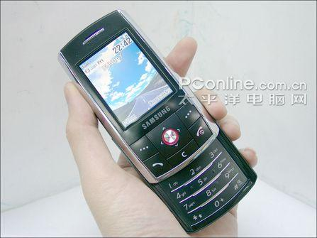 滑盖手机第一薄三星QVGA屏幕强机D800上市