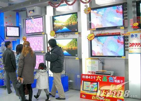 平板电视市场观察2006年气象风云多变