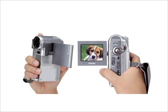 轻巧便携东芝R系列硬盘数码摄像机发布