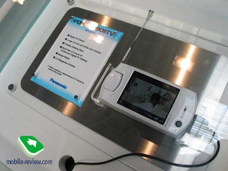 3GSM之松下篇押宝在移动电视3G手机(2)