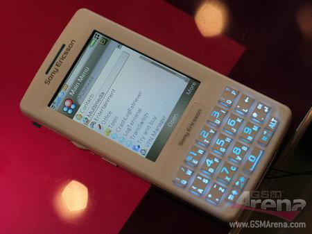 15mm的UIQ智能3G机索爱M600i黑白对赏