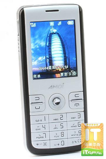 200万像素多媒体手机夏新M636直帅评测