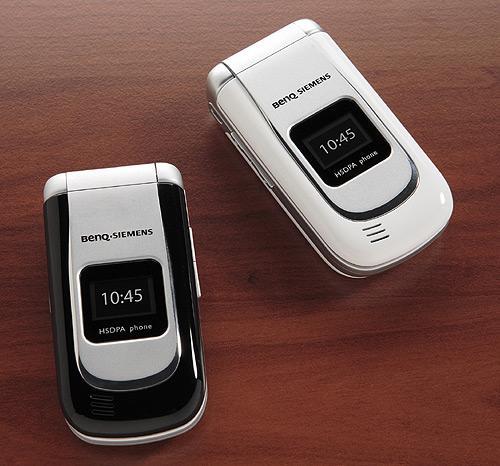 320万像素超3G手机领军明基西门子新机图赏