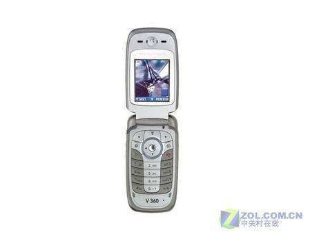支持TF卡MOTO音乐手机V360跌至1590元