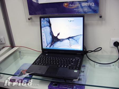 明基黑旋风闪龙笔记本R23上市价5999元