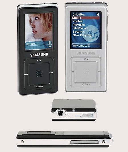 三星新品MP3发售4GB型号售价250美金