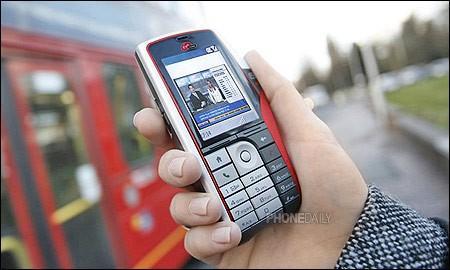 全球首款DAB-IP移动电视智能手机面世