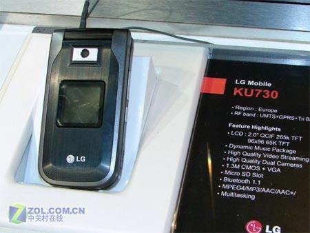 更清晰更稳定更流畅LG也推HSDPA高速机