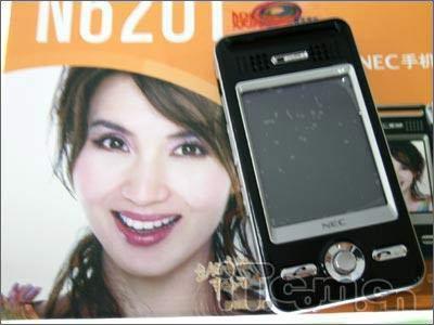 再报低价NEC新款PDA手机6201狂跌400元