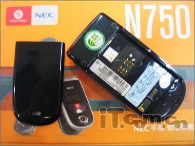 靓屏加蓝牙NEC百万像素拍照机N750仅售1199