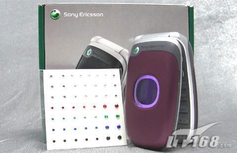 时尚折叠索尼爱立信Z2300c手机不到900元