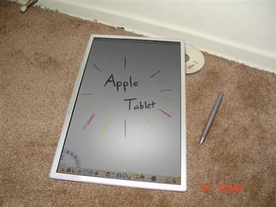 是真还是假苹果平板电脑真机泄露图赏