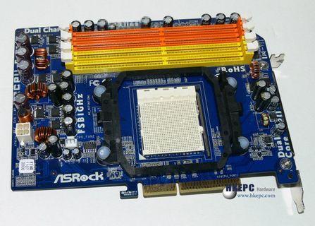 华擎推出兼容AM2处理器接口转接卡