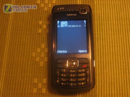 超酷黑色款诺基亚S60智能手机N70惊现(3)