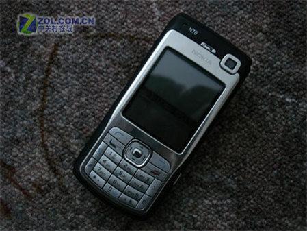 超酷黑色款诺基亚S60智能手机N70惊现