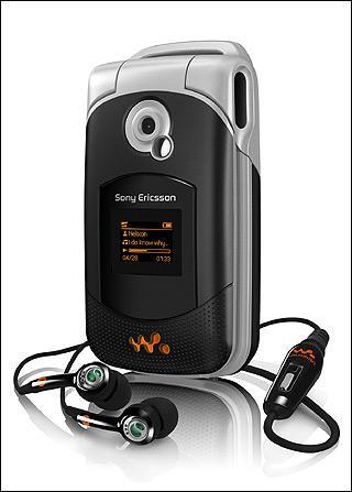 索爱发布首款折叠Walkman音乐手机W300