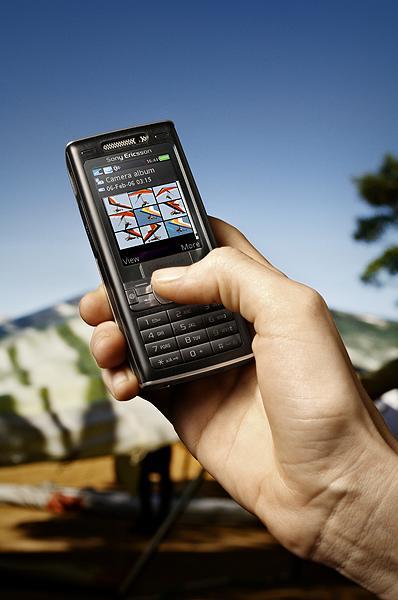 Cybershot手机索爱320万像素旗舰手机图赏(3)