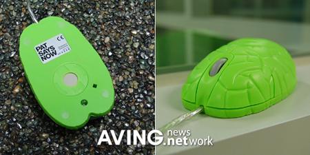 韩国怪异鼠标上市设计灵感源自人体器官