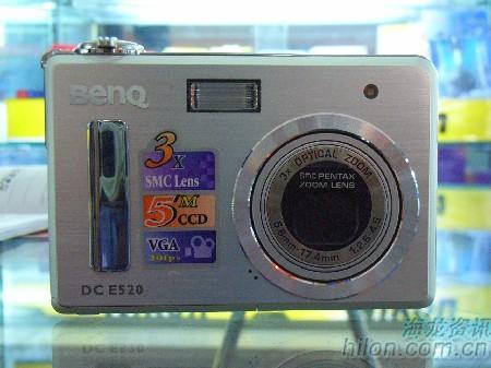 中日混血数码相机明基E520现卖1850元