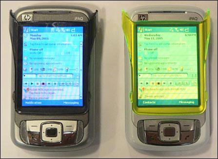 风格大变惠普全新PPC智能手机RW6800曝光