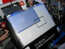 张靓颖签名之TCL双核笔记本电脑新上市