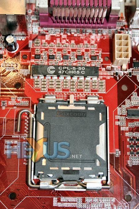 取消CPU供电电路富士康展示全数字PWM
