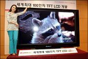 LGPhilips开发出100英寸液晶显示屏(图)