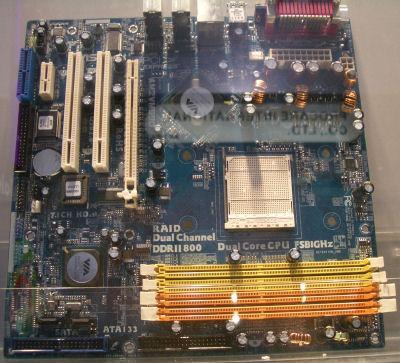 AM2全面风行威盛推出支持AM2插槽主板