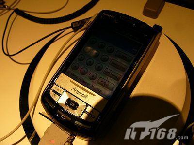 支持手写三星智能滑盖手机M800闪亮登场