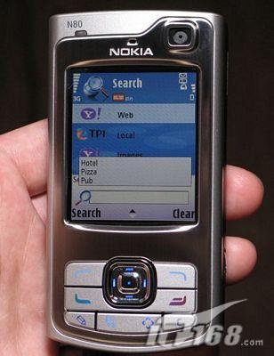 CeBIT2006现场解密诺基亚智能旗舰N80