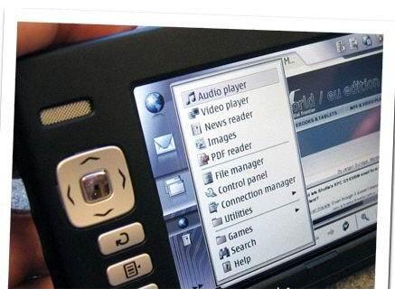 CeBIT2006现场直击诺基亚首款PDA770